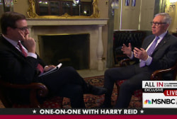 Exclusive interview with Harry Reid: Part 2