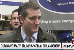 Trump makes 'servile puppy dog' of Ted Cruz