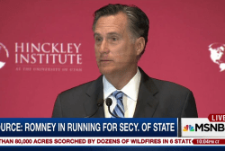 Source: Mitt Romney in running to be Trump...