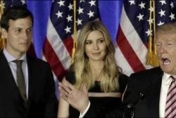 Ivanka Trump, husband sit in on Japanese...