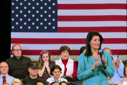 SC Governor Nikki Haley shifts tone on Trump