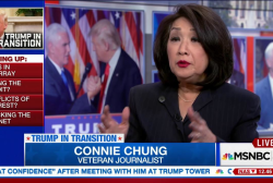 Connie Chung: Media became promoters of Trump
