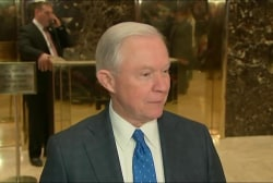 Will appointing Sessions 'bring us...