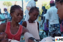 Cholera outbreak rips through Haiti
