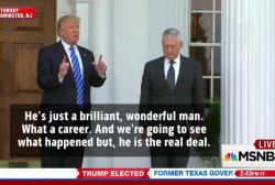 Trump courts Defense Secretary pick