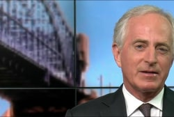 Corker On Transition: Trump is 'The Decider'