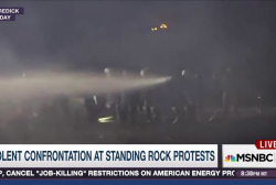 Violence at Dakota Pipeline protest