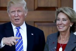 Teacher's union leader blasts Trump Edu....