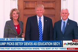 How will Devos change education?