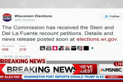 Wisc. Election Commission has received...