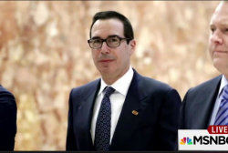 Trump Treasury pick formerly of Goldman Sachs