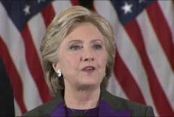 Watch Hillary Clinton's full concession...