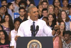 Obama Rips Into Trump: This Isn't 'The...