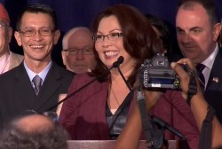 Duckworth on Illinois senatorial race win
