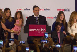 Rubio wants better political discourse...
