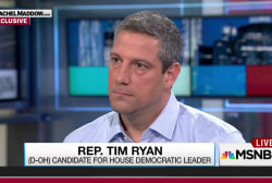 Tim Ryan facing Pelosi for House Dem leader