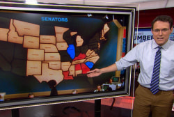 Happy 40th birthday red and blue election map