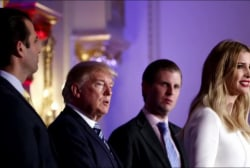 Trump presidency becoming a 'family business'
