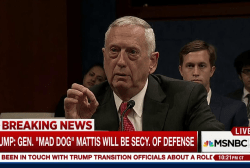 Trump picks Gen. 'Mad Dog' Mattis as...