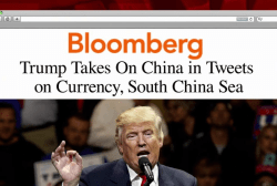Trump takes aggressive approach to China