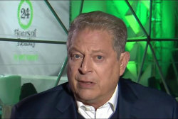 Al Gore, other Democrats meet with Trump