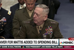Congress drafts Trump defense pick loophole