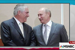 Trump state candidate has history with Putin