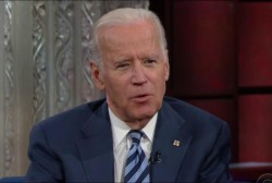 Biden continues discussing 2020