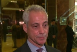 Chicago mayor, Trump talk immigration policy