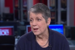 Janet Napolitano on Kelly, Trump cabinet...