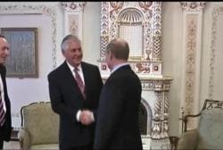 Tillerson's Russia relationship still in...