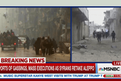 Reports of mass executions in Aleppo