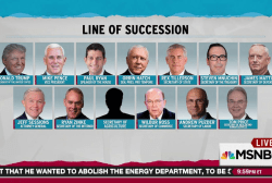Trump line of succession bears common trait