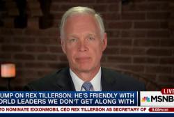 Sen. Ron Johnson: Trump & Tillerson should...