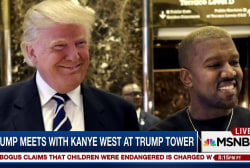 Is Trump's meeting with Kanye West...