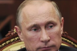 Putin ranks at top of 'Most Powerful...