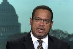 Ellison: Farrakhan talk distracting from...