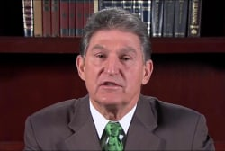 Manchin: I was honored to meet with Trump