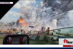 Deadly explosion at Mexican fireworks factory
