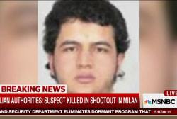Berlin terror suspect killed in Italy