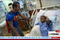 Nurse dresses up to bring joy to sick kids