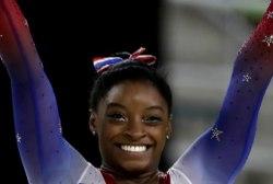 Simone Biles named AP female athlete of...