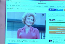 GoFundMe established to protect Betty White