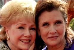 Debbie Reynolds dies one day after daughter