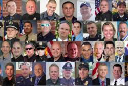 Shootings of police officers spike in 2016