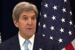 Kerry calls on Israel, Palestinians to...