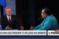 The black musician who befriends KKK members