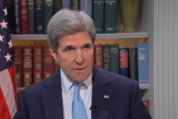 Kerry: The real issue is Israel's...