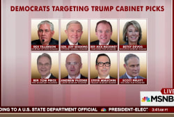 Who are Democrats hoping to target in...