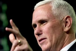 Mike Pence headed to the Hill to talk...